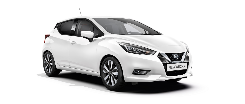 Nissan Micra noleggio lungo termine