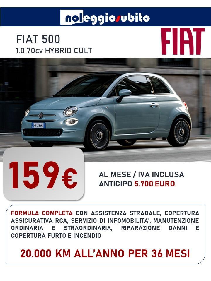 FIAT 500 offerta noleggio lungo termine