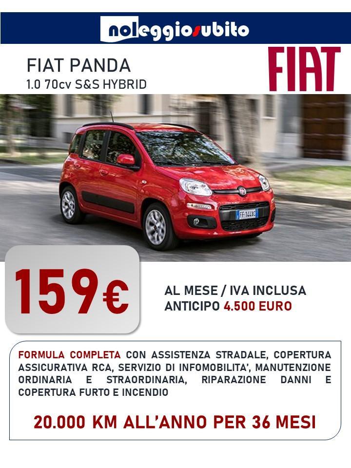 FIAT PANDA offerta noleggio lungo termine