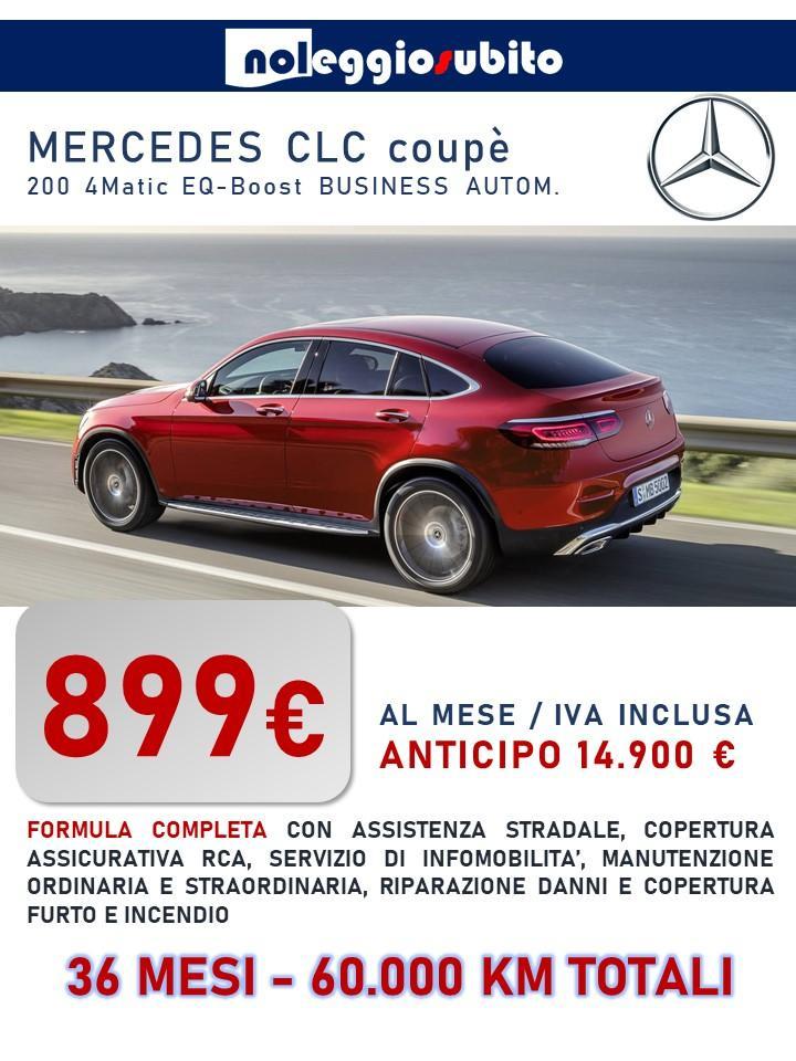 MERCEDES GLC coupe offerta noleggio lungo termine