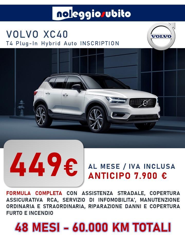 VOLVO XC40 offerta noleggio lungo termine
