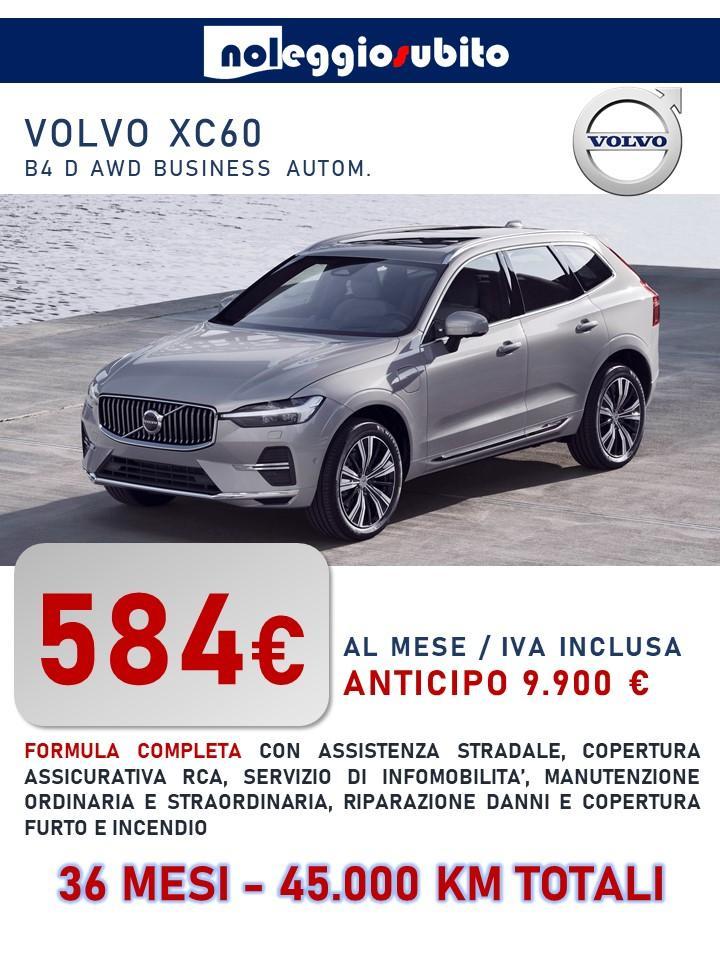 VOLVO XC60 offerta noleggio lungo termine