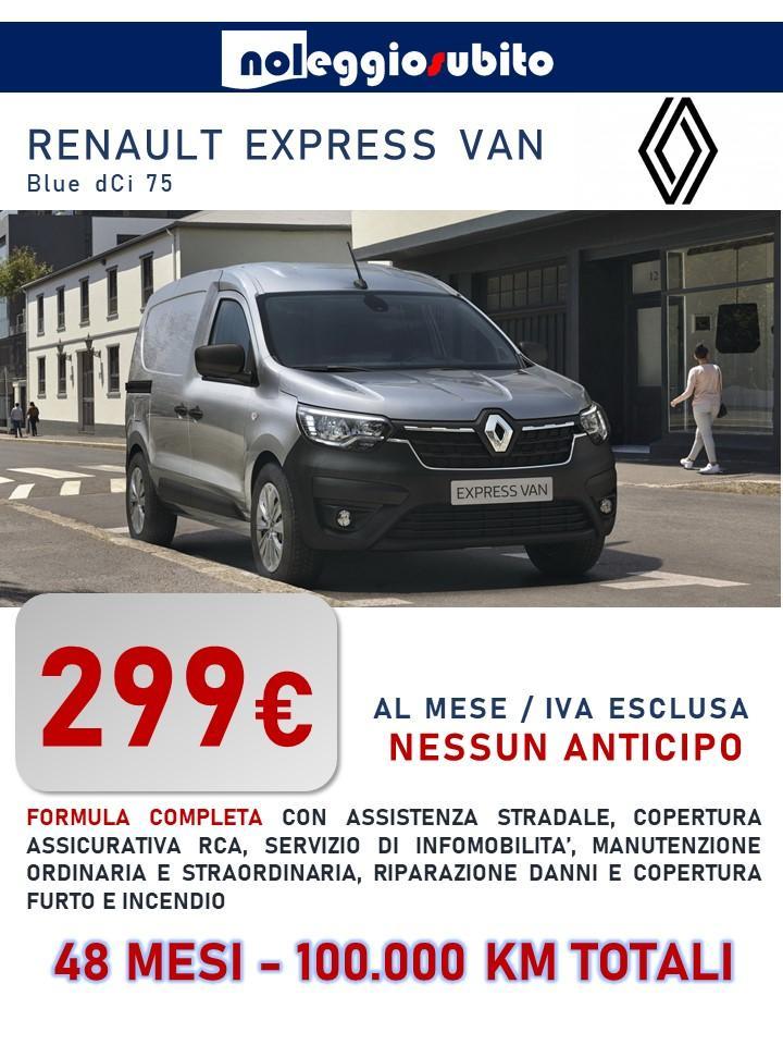 Renault Express VAN offerta noleggio lungo termine