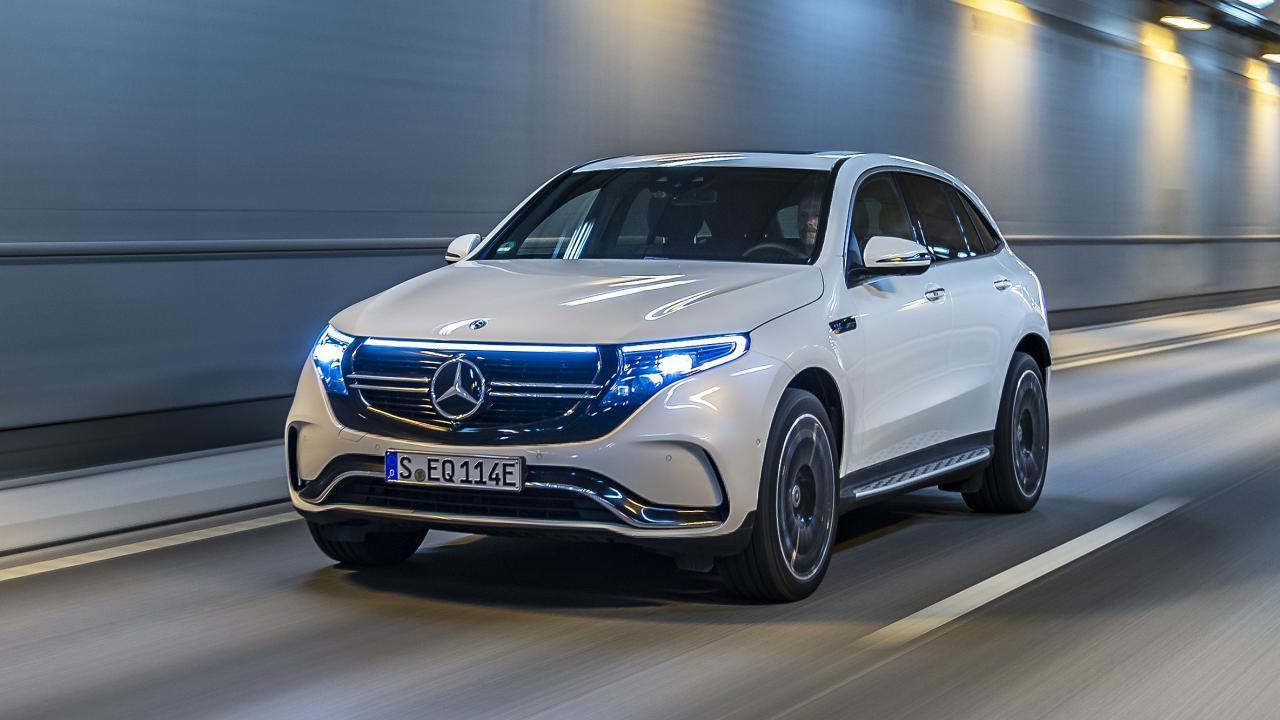 Mercedes EQC noleggio