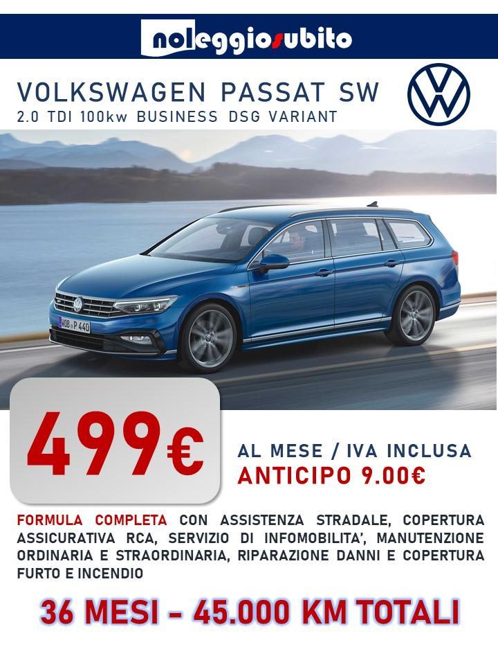 Volkswagen PASSAT VARIANT offerta noleggio lungo termine